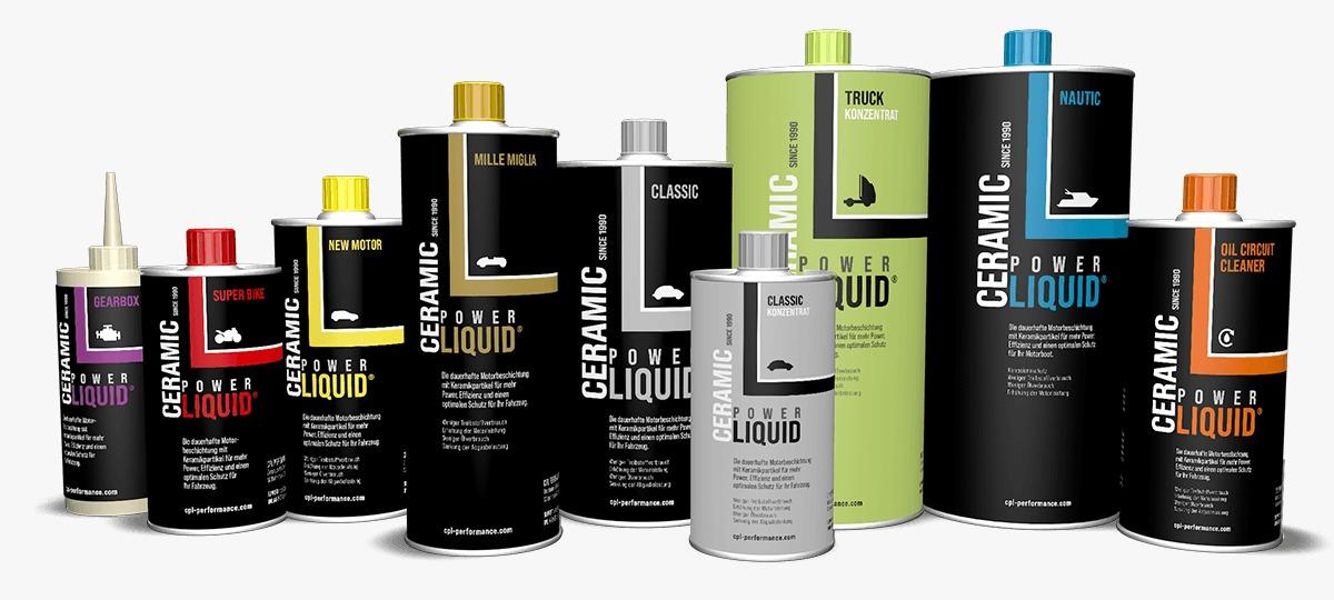 Ceramic Liquid Power Produkte